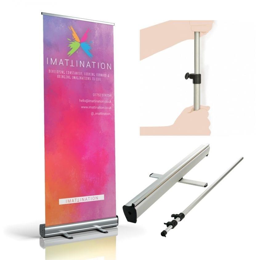 Zeta Roller Banner Stand - Imattination