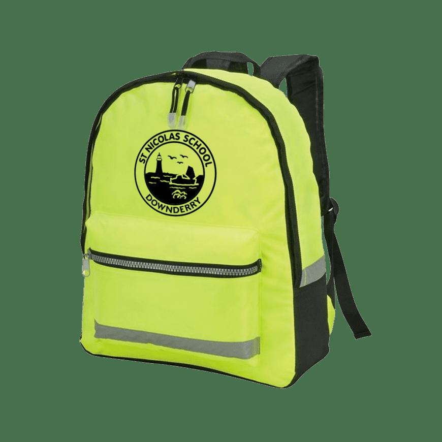 Hi Vis Reflective Backpack Imattination