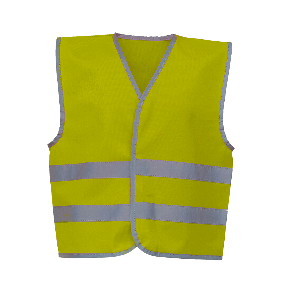 fc6a4e5b4895 High Vis Reflective Jacket for Kids (with customised print) - By ...