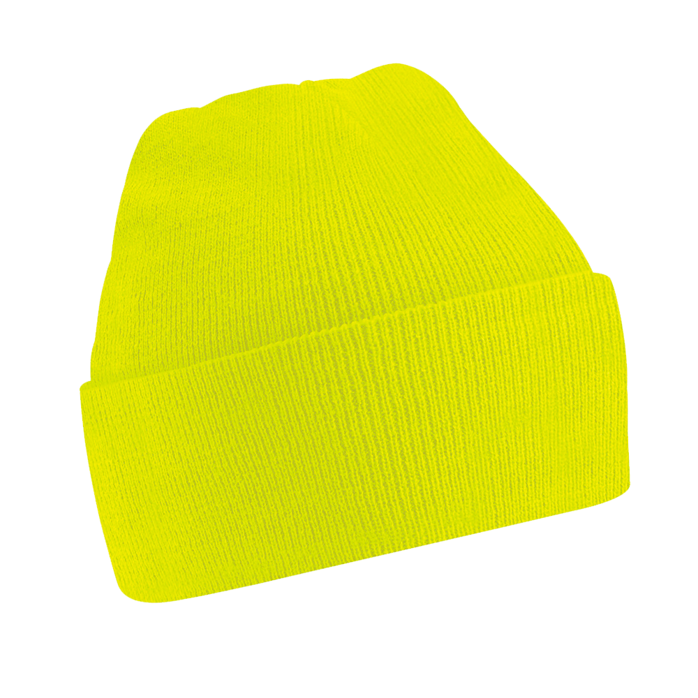 Fluorescent Beanie Hat (Yellow) - Kids - Imattination 5b0e0eb09f0